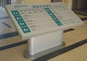 医院楼层分布索引大堂牌万博manbetx手机端登录