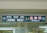 医院吊牌灯箱指示牌
