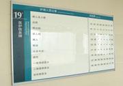 医院医护信息牌设计