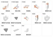 户外型材—落地弧度型牌系列万博体育登录入口材料